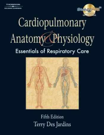 9781428393370-1428393374-Bundle: Cardiopulmonary Anatomy & Physiology, 5th + Workbook