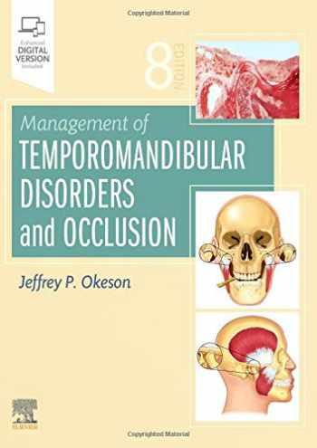 9780323582100-0323582109-Management of Temporomandibular Disorders and Occlusion