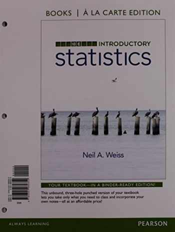 9780134270364-0134270363-Introductory Statistics, Books a la Carte Plus NEW MyLab Statistics with Pearson eText -- Access Card Package