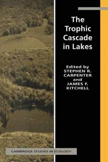 9780521566841-0521566843-The Trophic Cascade in Lakes (Cambridge Studies in Ecology)