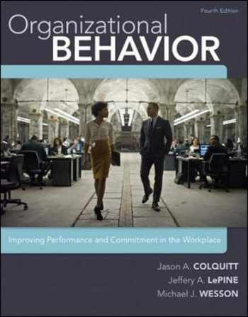 9780077862565-0077862562-Organizational Behavior: Improving Performance and Commitment in the Workplace