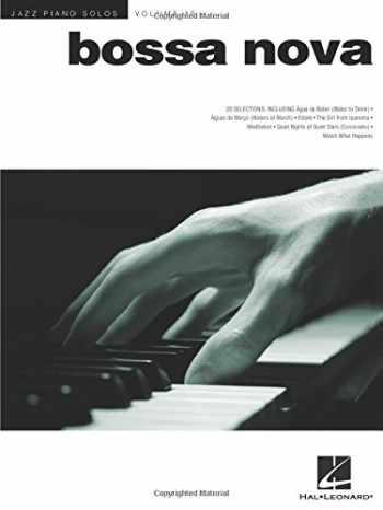 9781423482185-1423482182-Bossa Nova - Jazz Piano Solos Series Volume 15 (Jazz Piano Solos (Numbered))