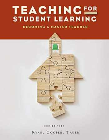 9781111833602-1111833605-Teaching for Student Learning: Becoming a Master Teacher