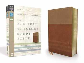 9780310450528-0310450527-NIV, Biblical Theology Study Bible, Leathersoft, Tan/Brown, Thumb Indexed, Comfort Print: Follow God's Redemptive Plan as It Unfolds throughout Scripture