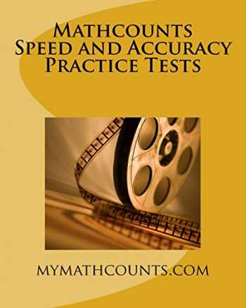 9781499276893-1499276893-Mathcounts Speed and Accuracy Practice Tests (Mathcounts Competition Practice Tests)