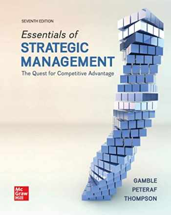 9781260785845-126078584X-Loose-Leaf Essentials of Strategic Management: The Quest for Competitive Advantage