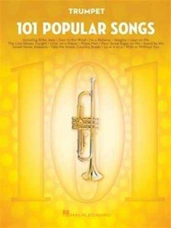 9781495090271-1495090272-101 Popular Songs: for Trumpet (TROMPETTE)
