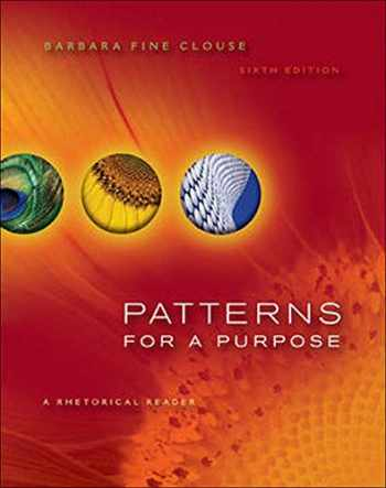 9780073383958-0073383953-Patterns for A Purpose: A Rhetorical Reader