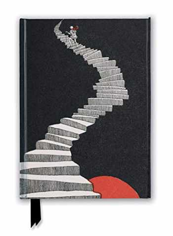 9781787555525-1787555526-British Library: Hans Christian Andersen, A Figure Walking up a Staircase (Foiled Journal) (Flame Tree Notebooks)