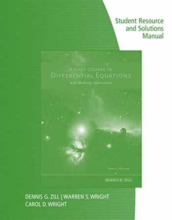 9781133491927-1133491928-A First Course in Differential Equations with Modeling Applications
