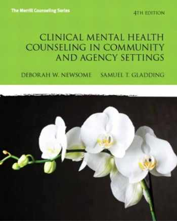 9780132851039-0132851032-Clinical Mental Health Counseling in Community and Agency Settings (4th Edition) (New 2013 Counseling Titles)