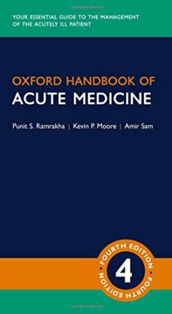 9780198797425-0198797427-Oxford Handbook of Acute Medicine (Oxford Medical Handbooks)