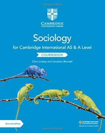 9781108739818-1108739814-Cambridge International AS and A Level Sociology Coursebook