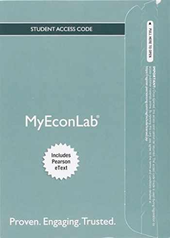 9780134124377-0134124375-MyLab Economics with Pearson eText -- Access Card -- for Economics