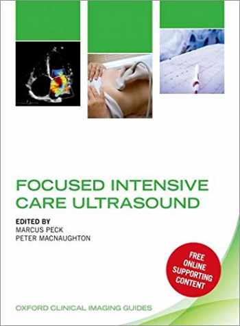 9780198749080-0198749082-Focused Intensive Care Ultrasound (Oxford Clinical Imaging Guides)
