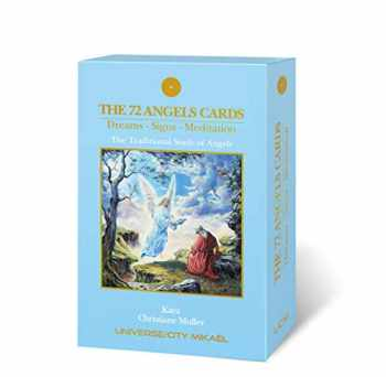 9782923097602-2923097602-The 72 Angel Cards, Dreams-Signs-Meditation, The Traditional Study of Angels, Universe/City Mikael