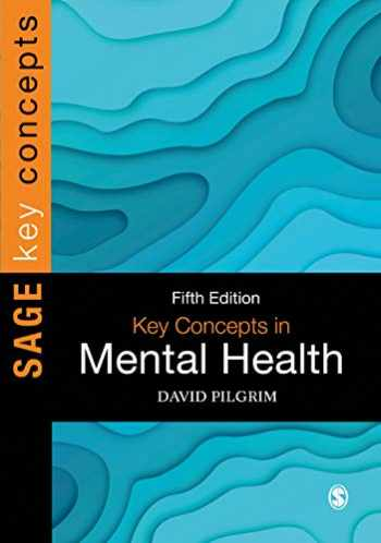 9781526493149-1526493144-Key Concepts in Mental Health (SAGE Key Concepts series)