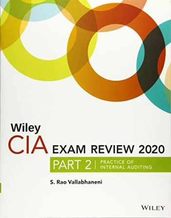 9781119666899-1119666899-Wiley CIA Exam Review 2020, Part 2: Practice of Internal Auditing