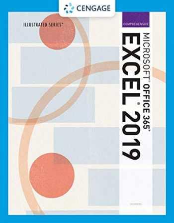 9780357025703-0357025709-Illustrated Microsoft Office 365 & Excel 2019 Comprehensive (MindTap Course List)