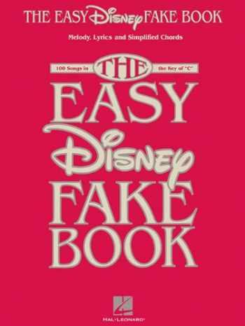 9781458445148-1458445143-The Easy Disney Fake Book (INSTRUMENTS EN)