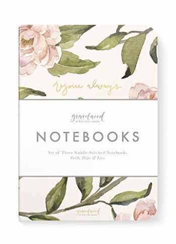 9780736982597-0736982590-GraceLaced Lined Notebooks, Set of 3, Rejoice, Pray, Give