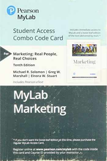 9780135642566-0135642566-MyLab Marketing with Pearson eText -- Combo Access Card -- for Marketing: Real People, Real Choices