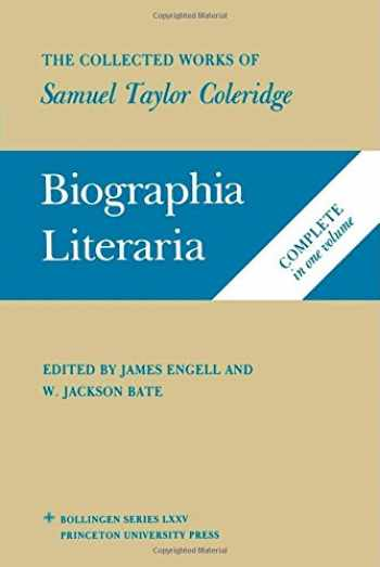 9780691018614-0691018618-Biographia Literaria: The Collected Works of Samuel Taylor Coleridge, Biographical Sketches of my Literary Life & Opinions (v. 7)
