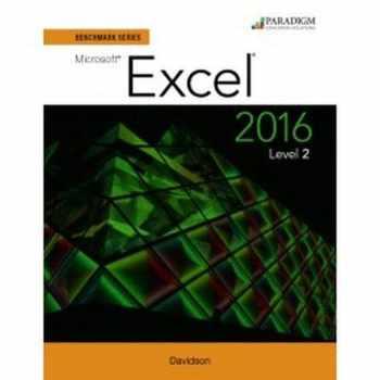 9780763871703-0763871702-Benchmark Series: Microsoft (R) Excel 2016 Level 2: Workbook