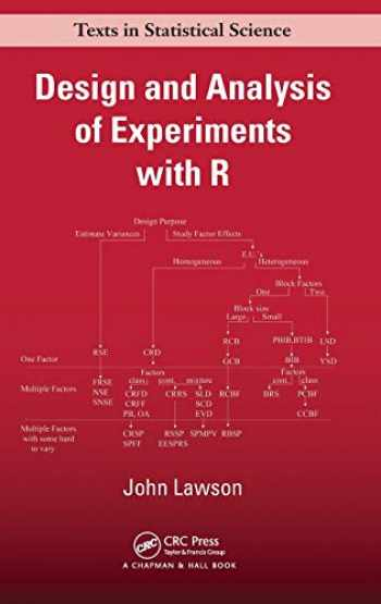 9781439868133-1439868131-Design and Analysis of Experiments with R (Chapman & Hall/CRC Texts in Statistical Science)