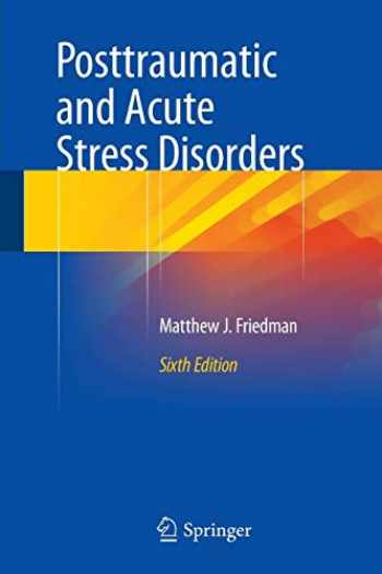 9783319150659-3319150650-Posttraumatic and Acute Stress Disorders