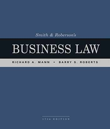 9781337094757-1337094757-Smith and Roberson's Business Law