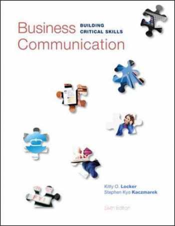 9780073403267-0073403261-Business Communication: Building Critical Skills