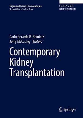 9783319196169-3319196162-Contemporary Kidney Transplantation (Organ and Tissue Transplantation)