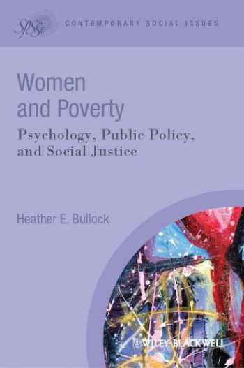9781405183505-1405183500-Women and Poverty: Psychology, Public Policy, and Social Justice