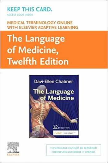 9780323551441-0323551440-Medical Terminology Online with Elsevier Adaptive Learning for The Language of Medicine (Access Card)