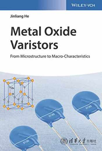 9783527333820-3527333827-Metal Oxide Varistors: From Microstructure to Macro-Characteristics