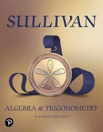 9780135163078-0135163072-Algebra and Trigonometry (11th Edition)