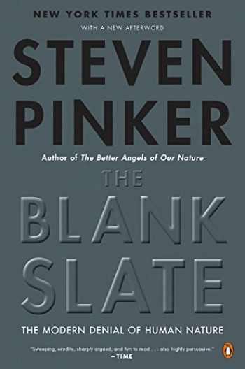 9780142003343-0142003344-The Blank Slate: The Modern Denial of Human Nature