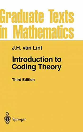 9783540641339-3540641335-Introduction to Coding Theory (Graduate Texts in Mathematics (86))