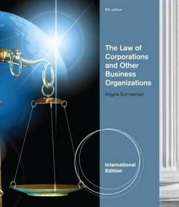 9781133134763-1133134769-The Law of Corporations and Other Business Organizations, International Edition
