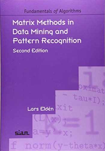 9781611975857-1611975859-Matrix Methods in Data Mining and Pattern Recognition, Second Edition