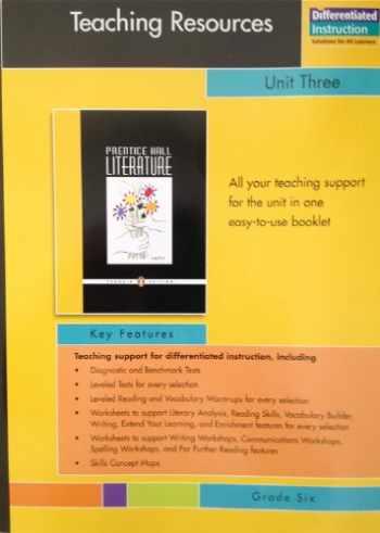 Prentice hall literature book grade 7 online