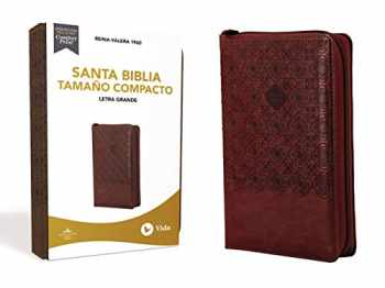 9780829770322-0829770321-RVR60 Santa Biblia, Letra Grande, Tamaño Compacto, Leathersoft, Café, Edición Letra Roja, con Cierre (Spanish Edition)