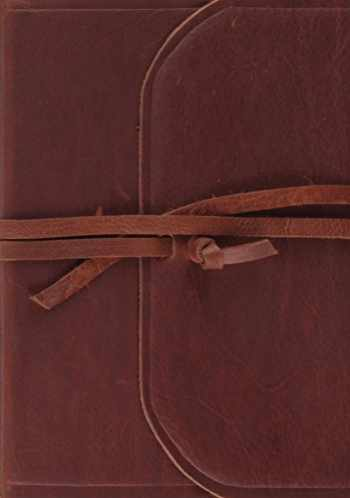 9781433555374-1433555379-ESV Study Bible (Brown, Flap with Strap)