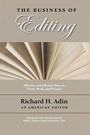 9781434103697-1434103692-The Business of Editing
