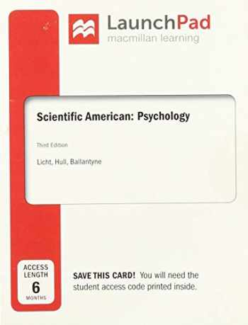 9781319211172-1319211178-LaunchPad for Scientific American: Psychology (Six Month Access)