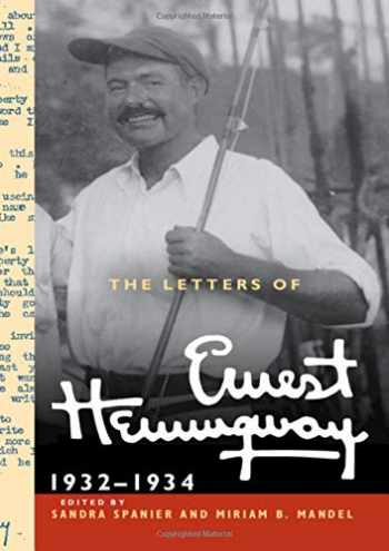 9780521897372-0521897378-The Letters of Ernest Hemingway: Volume 5, 1932–1934: 1932–1934 (The Cambridge Edition of the Letters of Ernest Hemingway (Series Number 5))