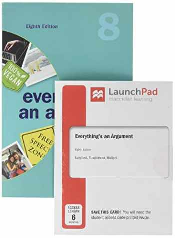 9781319243104-131924310X-Everything's an Argument & LaunchPad for Everything's An Argument With Readings (Six Months Access)