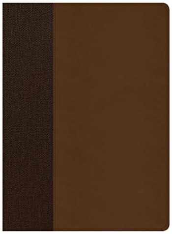 9781535956468-1535956461-CSB Life Essentials Interactive Study Bible, Brown LeatherTouch