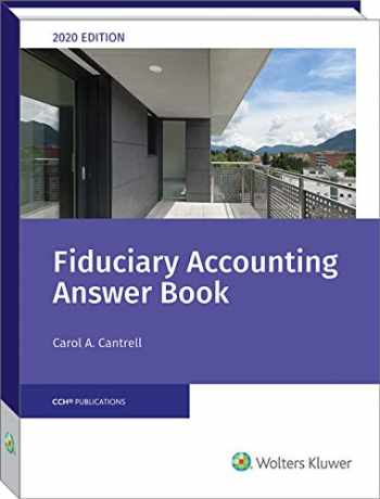 9780808052845-0808052845-Fiduciary Accounting Answer Book, 2020